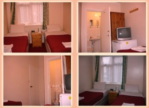 Royal Guest House cheap affordable hotel accommodation in london