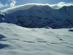 Ben Nevis mountain in Scotland uk