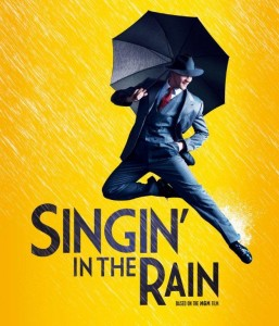 Singing in the rain - London theatre show ticket
