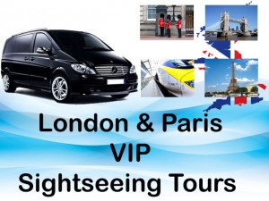 vip sightseeing tour of paris  london
